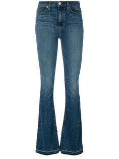 слегка расклешенные джинсы Hudson