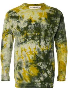 свитер с принтом тайдай Ottolinger