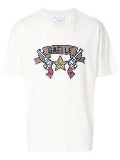 футболка с принтом Gaelle Bonheur