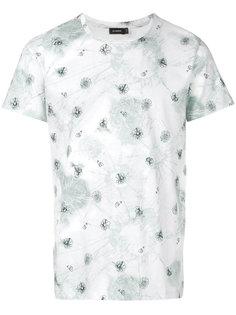 футболка с графическим принтом  Jil Sander