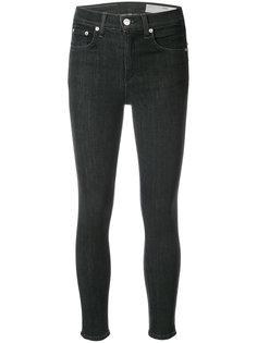 укороченные джинсы скинни Rag & Bone