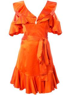 мини-платье с рюшами Zimmermann