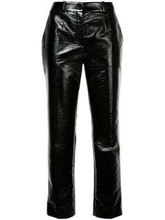 брюки из искусственной кожи Lanvin