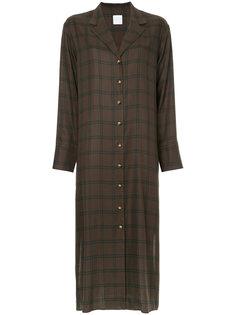 платье-рубашка в клетку Cityshop