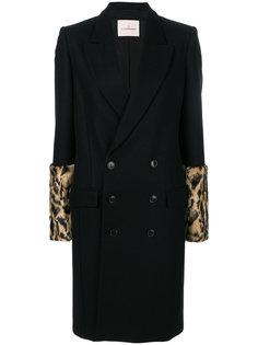 пальто с леопардовым узором без рукавов A.F.Vandevorst
