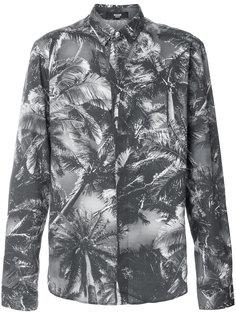 рубашка с принтом пальм Versus