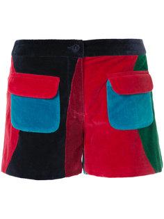 шорты с накладными карманами Manish Arora