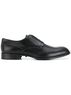 ботинки на шнуровке Versace