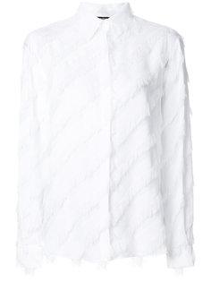 рубашка с бахромой Versus