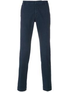 текстурированные брюки чинос Entre Amis