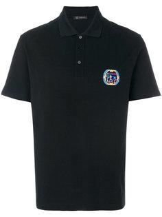 футболка-поло с вышивкой логотипа Versace