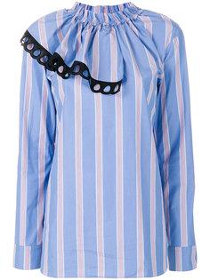 блузка в полоску Marni