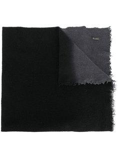 текстурированная двухцветная шаль Faliero Sarti