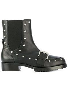 декорированные байкерские ботинки Nº21