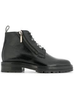 байкерские ботинки Saint Laurent
