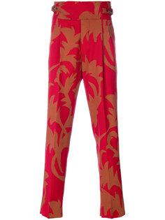 брюки со складками и поясом Vivienne Westwood