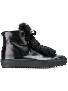 кроссовки с меховой отделкой Agl