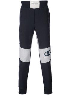 спортивные брюки с манжетами в рубчик Champion