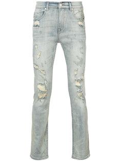 джинсы кроя слим Stampd