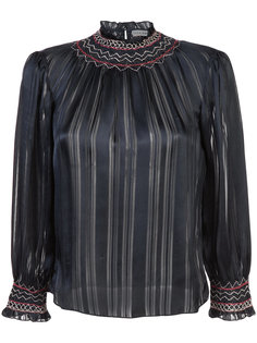 блузка с простроченной отделкой Ulla Johnson