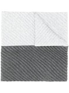 двухцветный шарф  Homme Plissé Issey Miyake