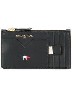 кошелек на молнии Maison Kitsuné