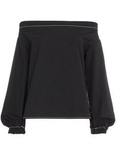блузка с заниженной линией плеч Rejina Pyo