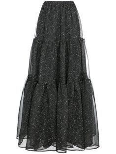 длинная юбка из органзы Rejina Pyo