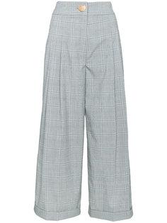 широкие брюки в клетку Rejina Pyo