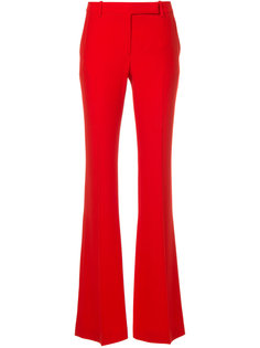 flared trousers Alexander McQueen