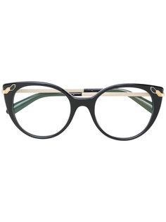 очки кошачий глаз Bulgari