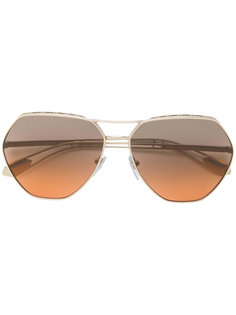 солнцезащитные очки-авиаторы  Bulgari