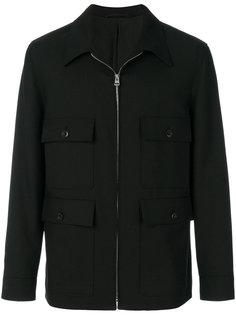 куртка рубашечного типа на молнии Lemaire