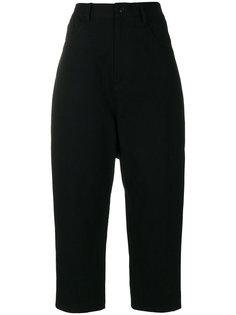 укороченные брюки с завышенной талией Ys Y`s