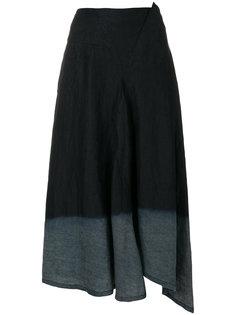юбка-миди с завышенной талией Ys Y`s