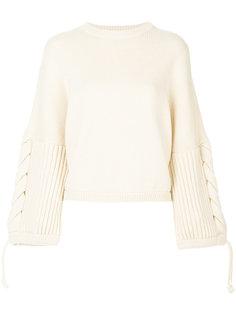 декорированный свитер с круглым вырезом Sportmax