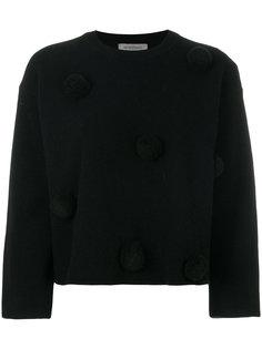 декорированный свитер с помпонами Sportmax