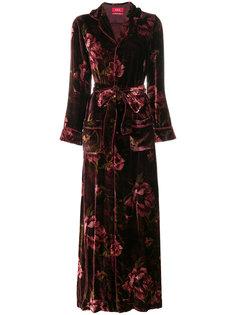 вечернее платье с цветочным рисунком F.R.S For Restless Sleepers
