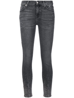джинсы с блестками 7 For All Mankind