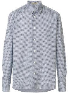 рубашка с мелким принтом Bottega Veneta