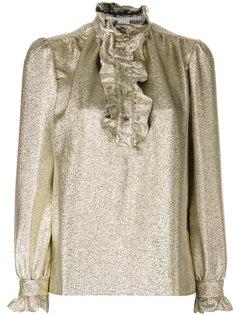блузка с отделкой из рюшей Stella McCartney
