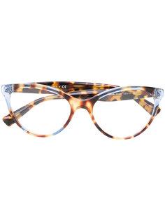 очки с эффектом черепашьего панциря Valentino Eyewear