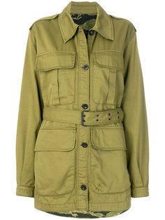 belted military jacket Mih Jeans
