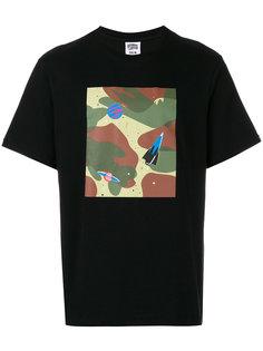 футболка с камуфляжным принтом и принтом космических кораблей Billionaire Boys Club