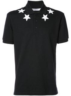 рубашка с аппликацией звезд Givenchy