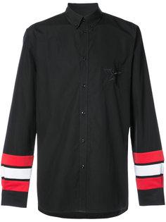 рубашка с полосками на рукавах Givenchy