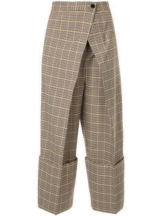 укороченные брюки с запахом Astraet