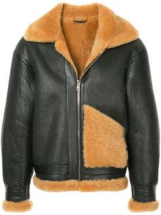 свободная кожаная куртка H Beauty&Youth