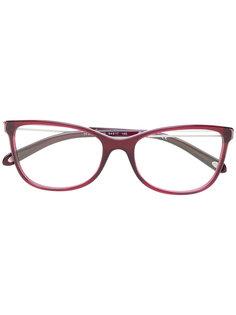 красные квадратные очки  Tiffany & Co.