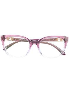 градиентные очки кошачий глаз Tiffany & Co.